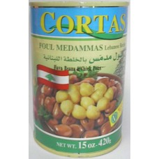 Cortas Foul Moudammas Lebanese 15 Oz