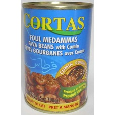 Cortas Foul Moudammas With Cumin 15 Oz