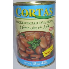 Cortas Broad Fava Brown 15 Oz