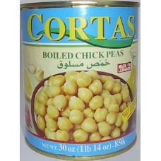 Cortas Chick Peas 30 Oz