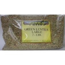 Green Lentils Large 2 Lbs