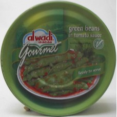 Al Wadi Green Bean With Tomato 9.7oz