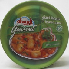 Al Wadi White Beans With Tomato 9.7oz