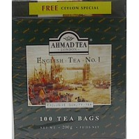 Ahmad English Tea Bags 100 Pieces
