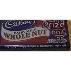 Cadbury Dairy Milk Wholenut