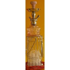 Hookah In A Cage 12 Inch