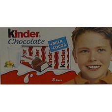 Kinder Chocolate 8 Bars